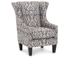 Accent Chairs-Charleston Accent Chair-Wing back with an update