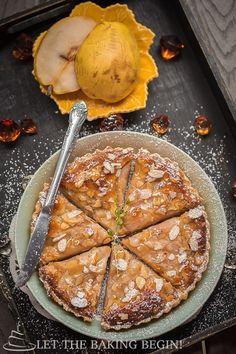 Almond Cream Pear Tart