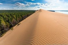 What is most unusual in Siberia? The frost below minus 50 degrees Celsius, diamonds, cruel northern mosquitoes the size of a fist? There is something even more unusual - the desert!