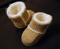 Ravelry: Project Gallery for Baby Uggs pattern by Jen Gontier
