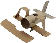 bouwplaat vliegtuig - Google zoeken