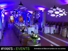 Dj Animation, Deco Led, Events, Table Decorations, Home Decor, Decoration Home, Room Decor, Home Interior Design, Dinner Table Decorations