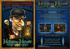 Be the detective in Victorian Villain #slot & solve the crime based on a murder mystery with a #prize of 1000 coins!  #gamble #casino https://www.topslotsite.com/games/victorian-villain-slots?tracker=170800&dynamic=socialVIP