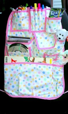 Design Your Own Child's Car Organizer by babygirlscreations, $45.00