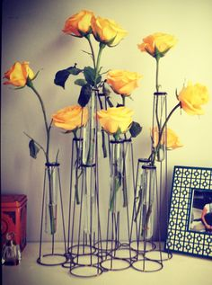 Yellow roses #anthropologie