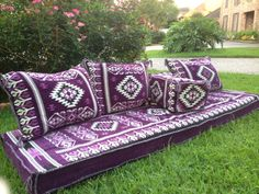 Arabic floor seating set includes 3 back pillows, 2 meter long seating mattress and one rectangular arm rest. To save on the shipping, I will fill the seating cushions but the back pillows have to be filled by the buyer. Booth Seating In Kitchen, Corner Seating, Cafe Seating, Public Seating, Outdoor Seating Areas, Lounge Seating, Seating Plans, Floor Seating Cushions, Arabic Decor