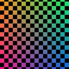 'Checkered Rainbow Squares' Mask by masliankaStepan Rainbow Wallpaper, Iphone Background Wallpaper, Cellphone Wallpaper, Aesthetic Stickers, Aesthetic Backgrounds, Aesthetic Wallpapers, Collage Vintage, Vaporwave, Checker Wallpaper