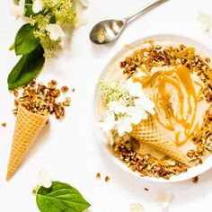 Caramel Butter Pecan Nice Cream-Your source of sweet...