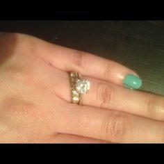 """Spotted while shopping on Poshmark: """"Engagement ring set""""! #poshmark #fashion #shopping #style #Jewelry"""