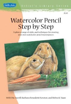 This fun, easy watercolor pencil art lesson shows you how to get started  with watercolor pencils and use masking fluid to create a colorful  painting!