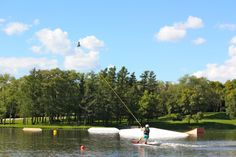 West Rock Wake Park offers entertainment on a lake you won't find anywhere else.