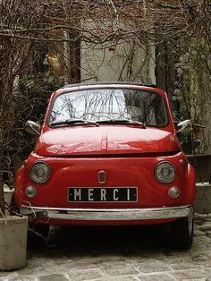 The courtyard at Merci, Paris My Dream Car, Dream Cars, Merci Paris, I Love Paris, Cute Cars, Oui Oui, Paris Travel, Old Cars, My Favorite Color