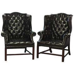 wing chair black faux leather u0026 walnut dollhouse furniture t6827 112 scale black faux leather dollhouse furniture and scale