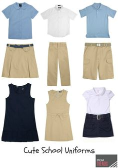 French Toast: Affordable School Uniforms We Love