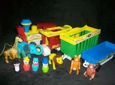 Fisher Price Circus Train:  Another toy I didn't have but got to play with at pre-school.