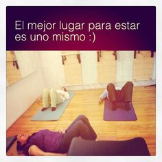 """@inspirahpilates's photo: """"El mejor lugar para estar es uno mismo #Pilates"""""""