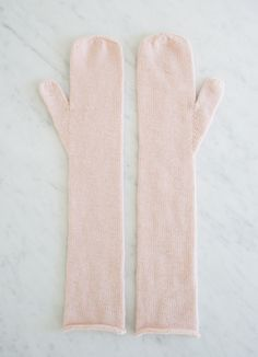 The Purl Bee:  Laura's Loop: Long Lovely Mittens