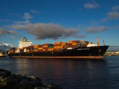 https://flic.kr/p/vhgWzT   Lahore Express   The panamax [4,250 TEU) container ship, the Lahore Express [IMO 9301811/MMSI 477241800] is photographed here departing the DPS World operated No. 4 NQ berth at Fremantle Port, Western Australia on July 4, 2015.  Her next port of call was Melbourne.  The Hong Kong flagged Lahore Express was built in 2006, has a gross tonnage of 39,941 tonnes which rates her as a panamax sized container ship.  She is managed out of Canada by Seaspan Ship Management…