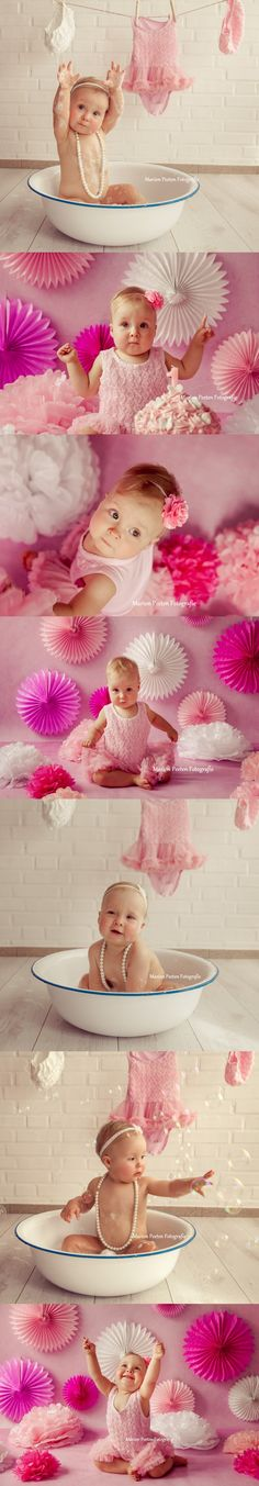 baby shoot#cake smash#bath shoot# one year shoot# baby girl#baby girl photoshoot# birthday shoot# little girl with pearls#marion peeten fotografie#marion peeten photography#studio photography