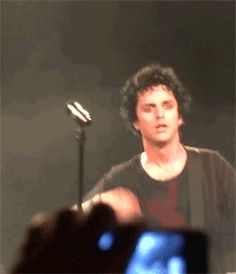 Billie Joe Armstrong, being effortlessly gorgeous, hot, and sexy.