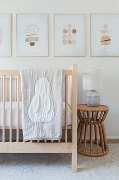 Modern Girl Nursery Design with Sweet Crate and Kids Touches - Anne Sage