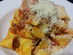 Pappardelle ...