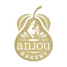 Fruit Logo Design Identity Branding Ideas For 2019 Bakery Branding, Bakery Logo, Logo Branding, Corporate Branding, Bakery Packaging, Logo Inspiration, Wm Logo, Kreis Logo, Gfx Design