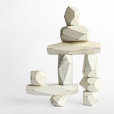 Areaware: Balancing Blocks White, are these building blocks for kids, or for adults? both!