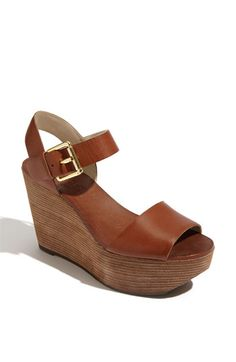 kors michael kors wedge sandal
