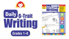 Build students' writing skills with short daily writing activities.The Six-Trait Writing model offers a practical and successful technique for teaching, implementing, and assessing effective writing. Persuasive Writing Techniques, Daily Writing Prompts, Writing Lessons, Writing Activities, Writing Skills, Writing Ideas, Six Trait Writing, Fifth Grade Writing, Teaching Genre