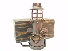 Steampunk Table Petrol Lighter  157