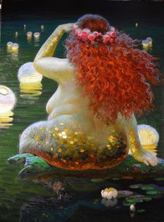 """If only our eyes saw souls instead of bodies, how very different our ideas of beauty would be..."" (Image: Victor Nizovtsev)"