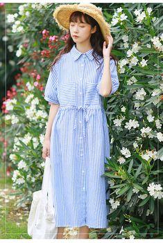 Women's Clothing Collection Here Prairie Chic Summer Women White Blue Dress Floral Print Casual Female Vestidos Short Sleeve Elegant Chiffon Mori Girl Cute Dress More Discounts Surprises