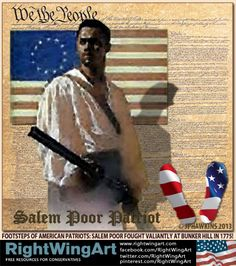 American patriot - Salem Poor
