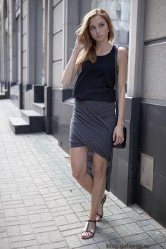 100720141 Минимализм или французский шик в одежде и образах польского блогера