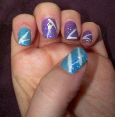My Tribal Fairy Shellac Nails