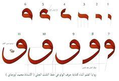 Calligraphy Lessons, Calligraphy Tutorial, Arabic Calligraphy Design, Arabic Calligraphy Art, Arabic Handwriting, Learning Arabic, Arabesque, Typo, Dubai