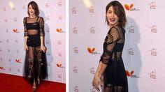 """La cantante y actriz asistió al estreno de su película """"Tini, el gran cambio de ..."""