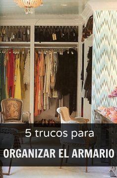 5 trucos para organizar tu armario #asesoradeimagen #estilistapersonal #personalshopper