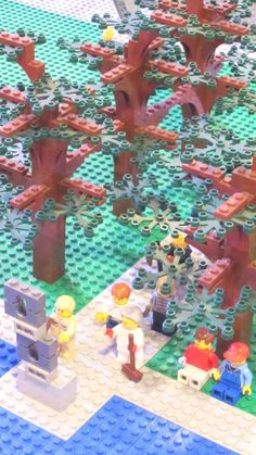 "The garden of Dallas' beloved Nasher Sculpture Center, in LEGOs.  In ""Living small in Big D,"" August 8, 2012."