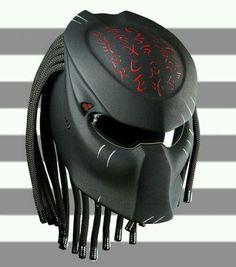 Predator Helmet New Emperor Custom Motorcycle DOT Certified