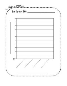 Blank Bar Graph  Bar Graphs Worksheets And Bar