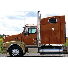 Semi Truck Chrome Shop, Truck Lighting and Chrome Accessories Semi Trucks, Big Trucks, Ford Trucks, Sterling Trucks, Peterbilt, Volvo, Rigs, Chrome, Vehicles