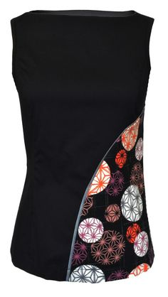 Floret Top - Sale - Shop Interesting way to add in interesting fabric design without overwhelming it.