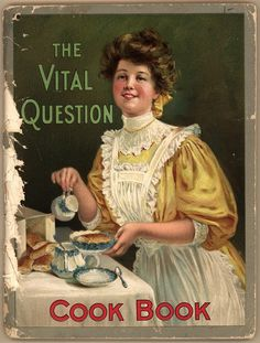 11 Vintage Cookbooks (1861-1920)