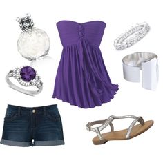 Glitter, created by alyshalyon on Polyvore