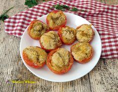 POMODORI+GRATINATI+AL+FORNO Muffin, Breakfast, Oven, Morning Coffee, Cupcakes, Muffins, Morning Breakfast