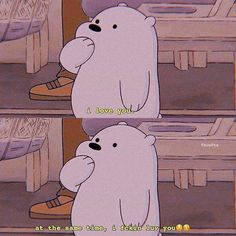 Cute Panda Wallpaper, Bear Wallpaper, Wallpaper Iphone Cute, Ice Bear We Bare Bears, We Bear, Instagram Cartoon, We Bare Bears Wallpapers, Cartoon Quotes, Cute Memes