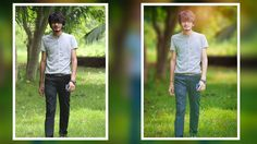 Photo editing in Photoshop | How to Blur Background In Photoshop