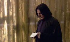 Alan Rickman as Severus Snape | Behind the scenes of Harry Potter - Alan Rickman - severus-snape Photo
